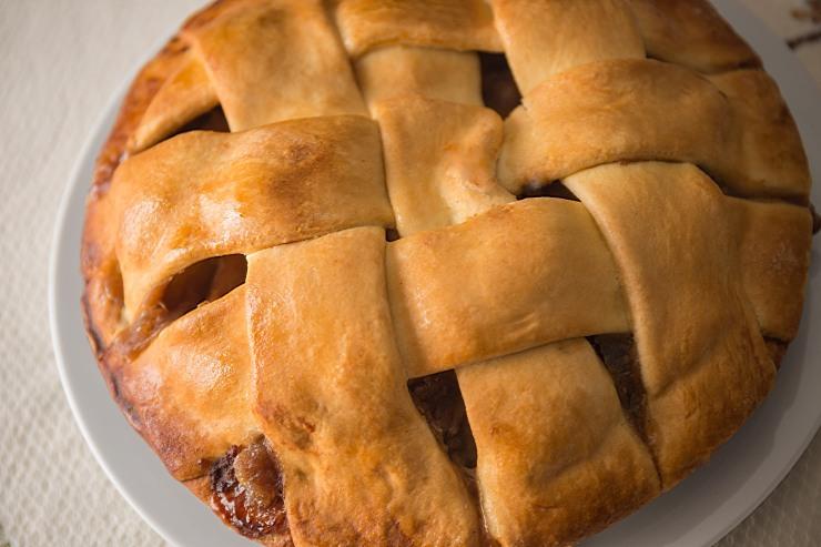 NYC apple pie