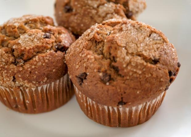 Mocha chip muffins
