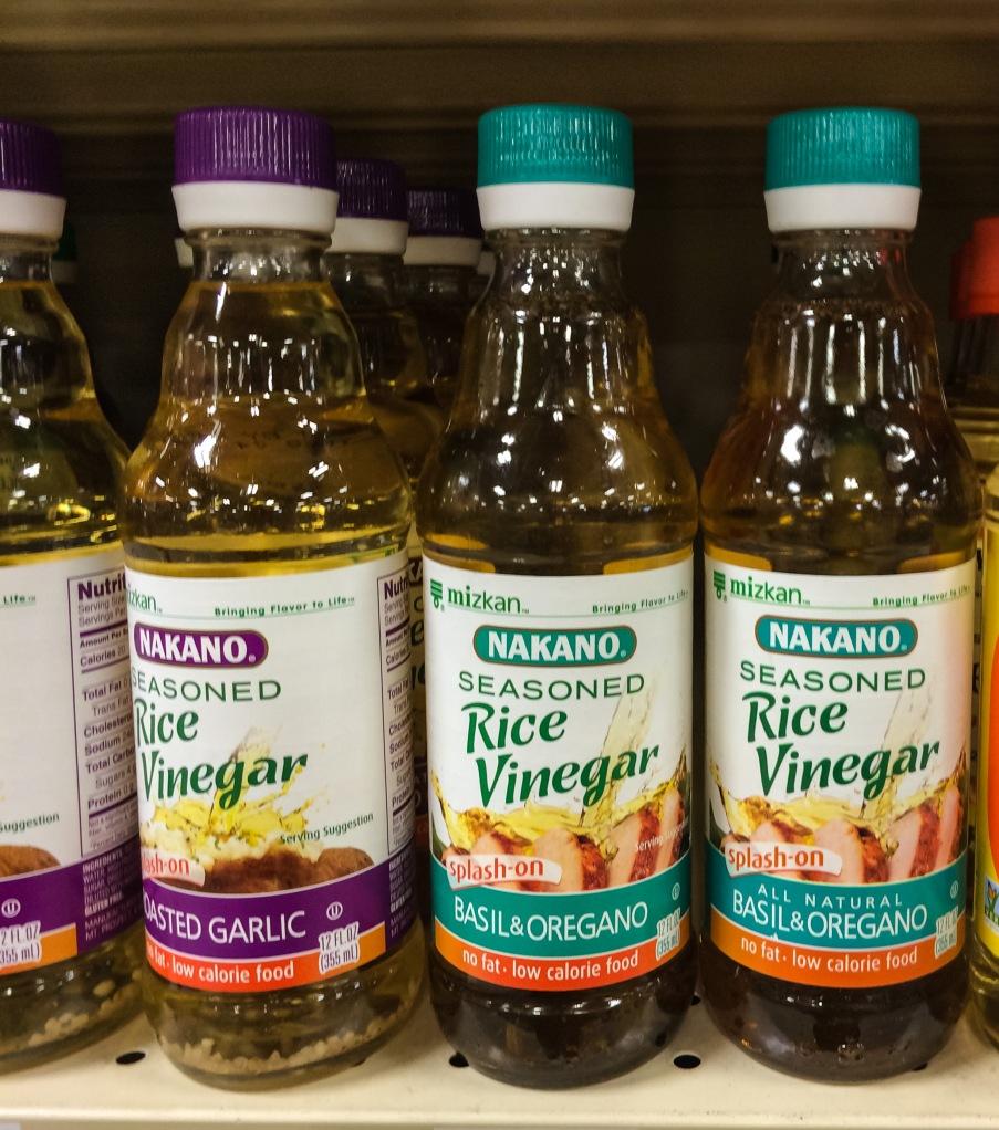 Rice venegar