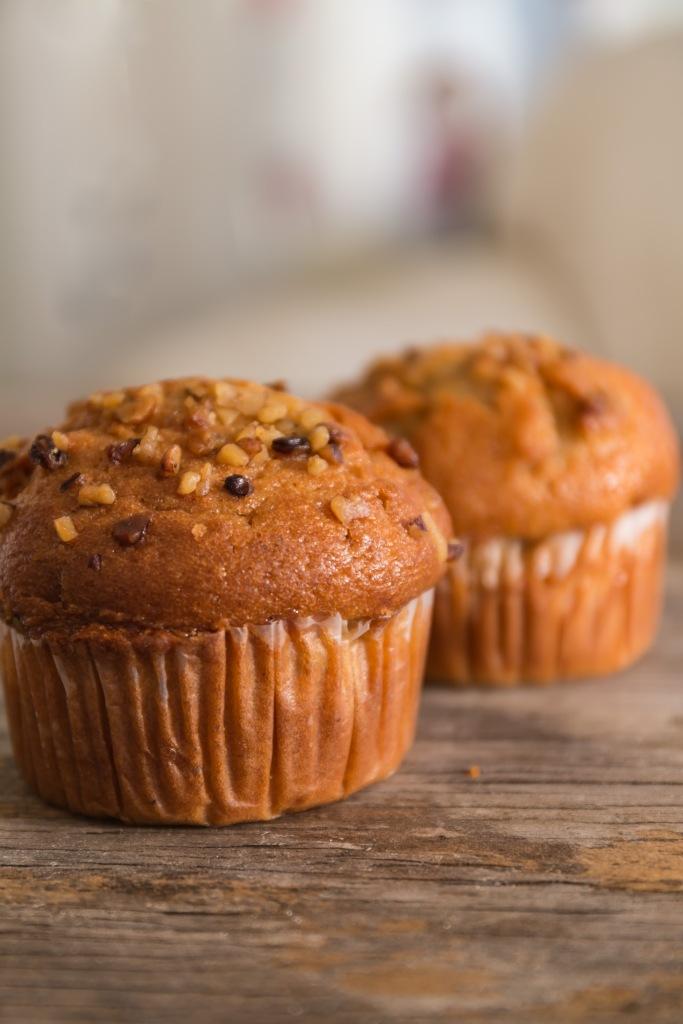 Banana nut muffins--Photo Pincher