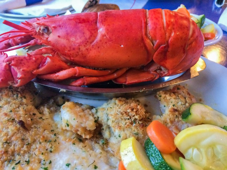 Lobster boat combo--West Yarmouth