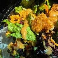 Mc Donald style Southwest salad