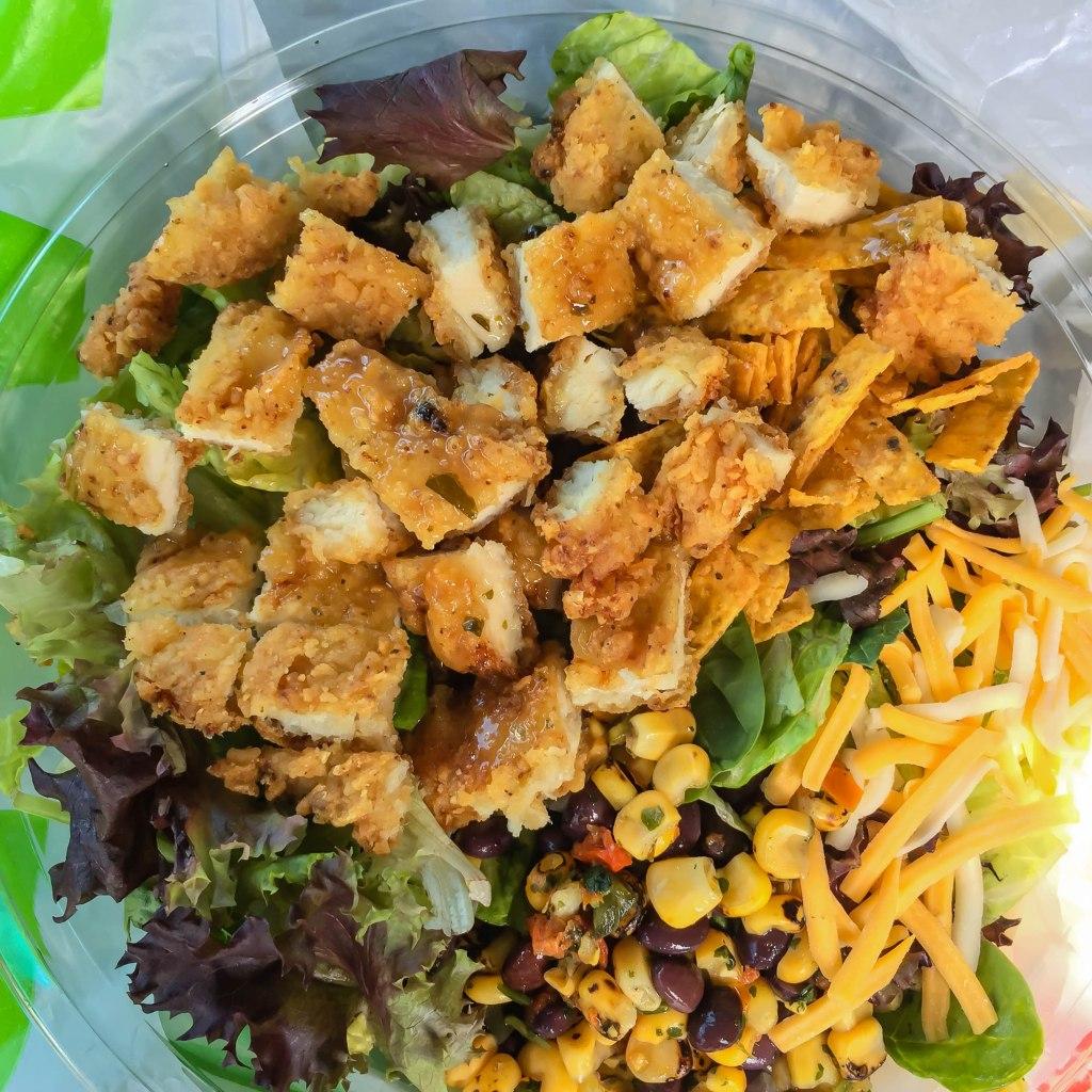 Mc Donald Southwest salad