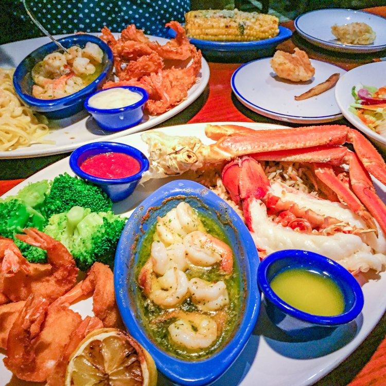 Red Lobster Ultimate Feast