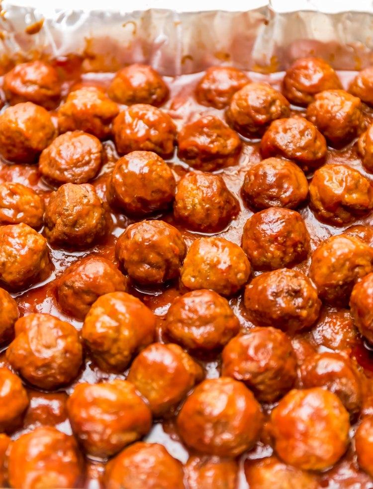 Miss Lou Turkey meatballs