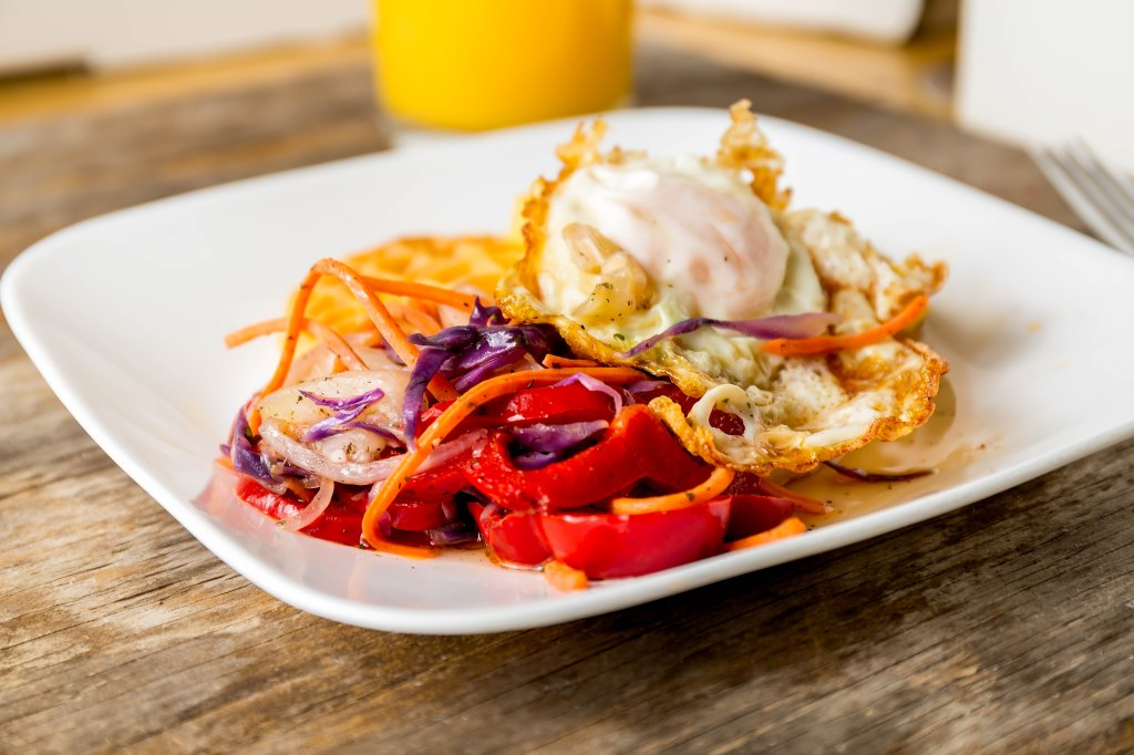 Miss Lou low carb breakfast
