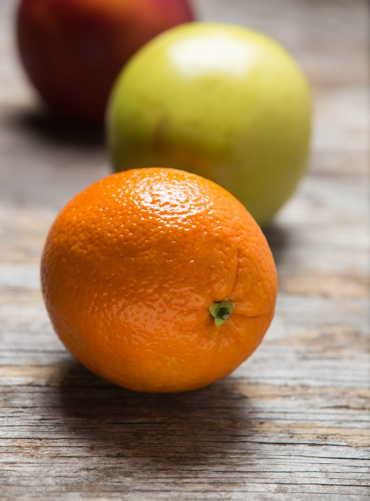Juicy Florida orange