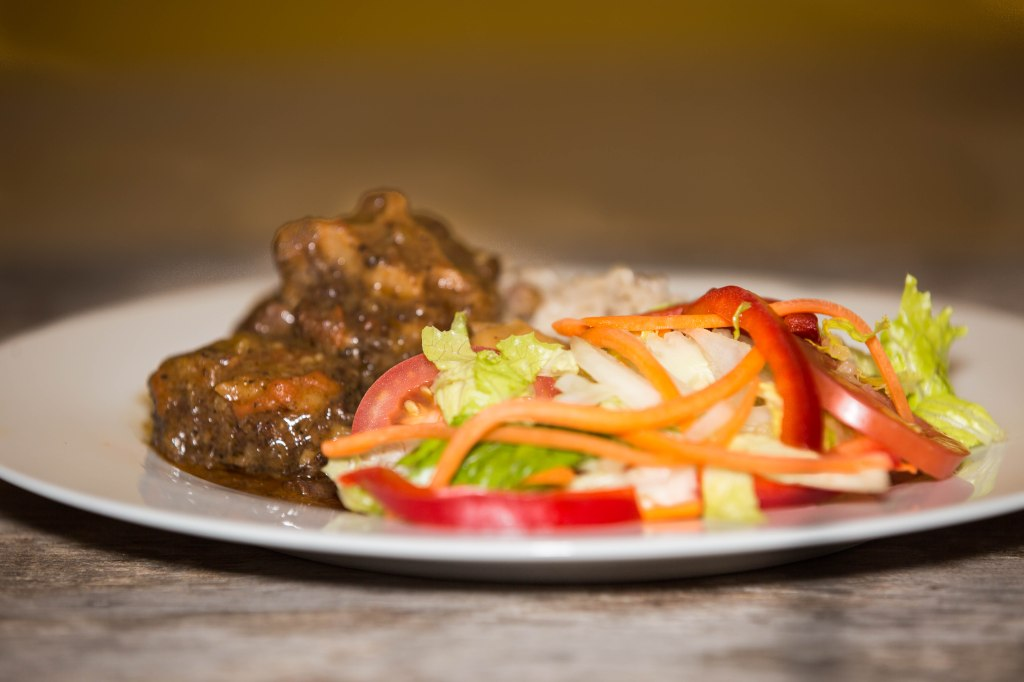 Jamaican style Oxtail stew