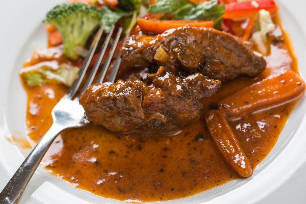 Stew-chicken