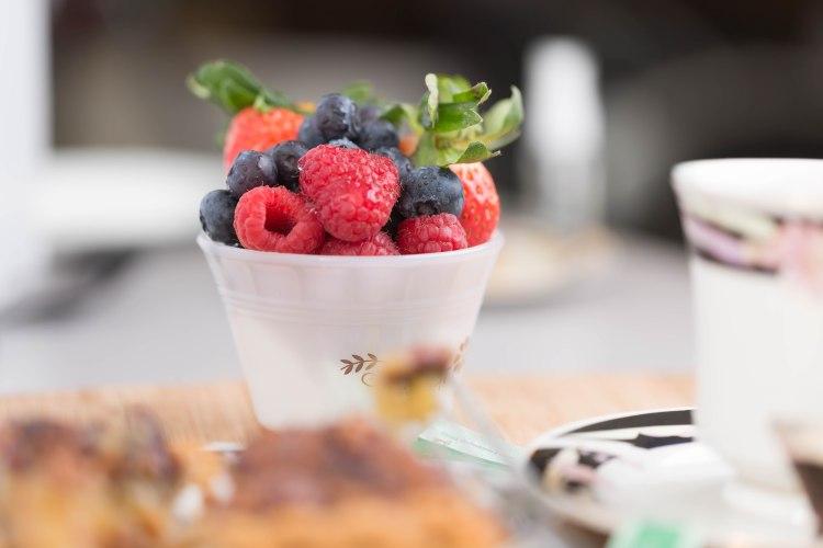 Strawberry, Raspberry, Blueberry combo
