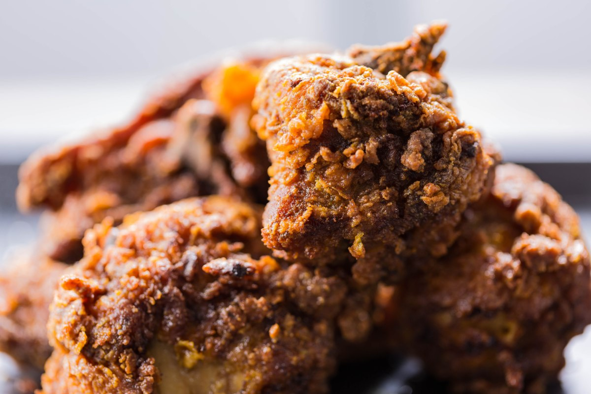 Jamaican style fried chicken