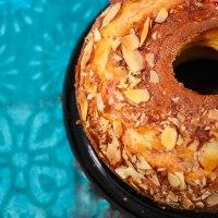 Scrumptious Almond cake