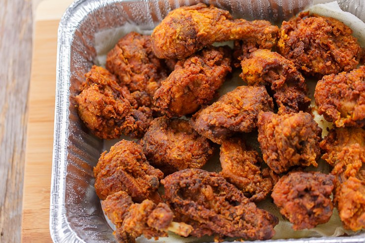 Jamaican Southern fried chicken