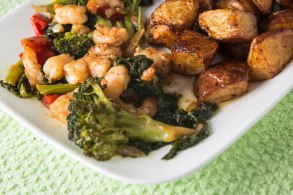 Broccoli and shrimp-1-3