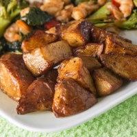 Shrimp-broccoli and potato