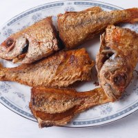 Deep Fried Snapper Fish