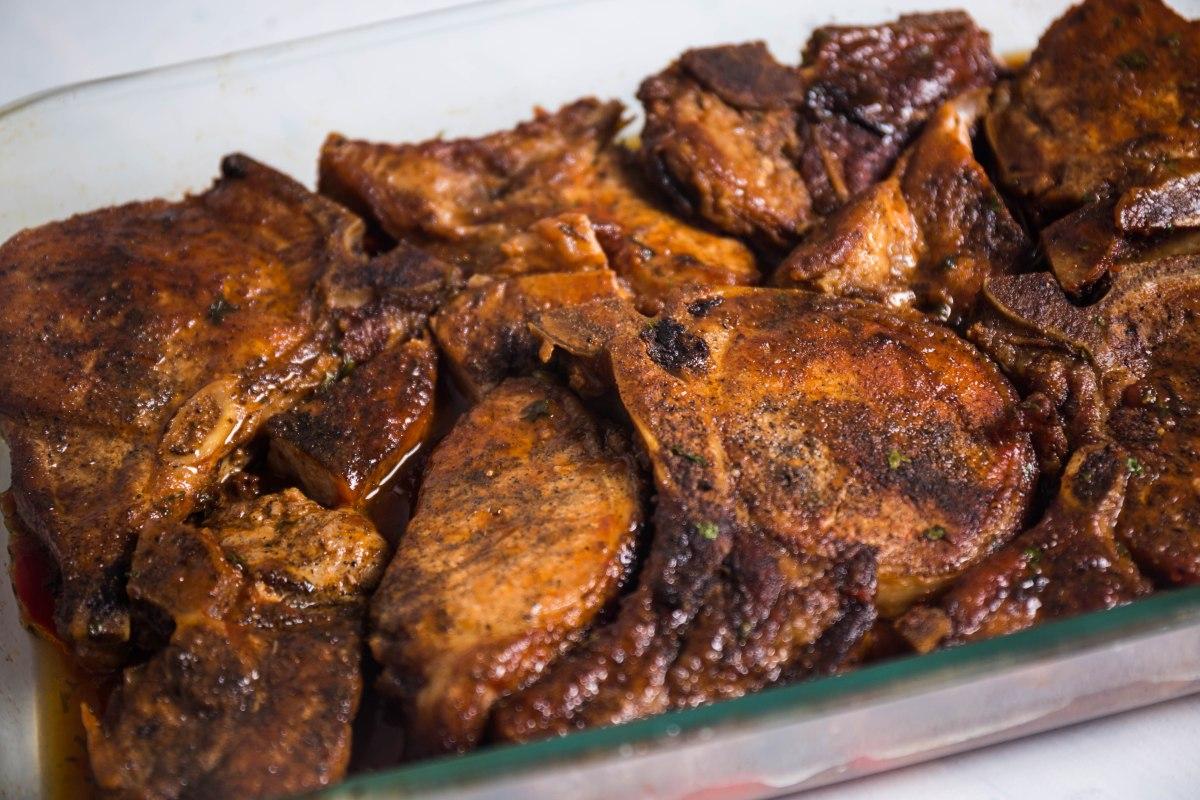 Grandma Pork Chops