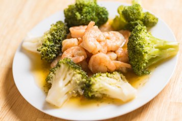 Shrimp and broccoli-3