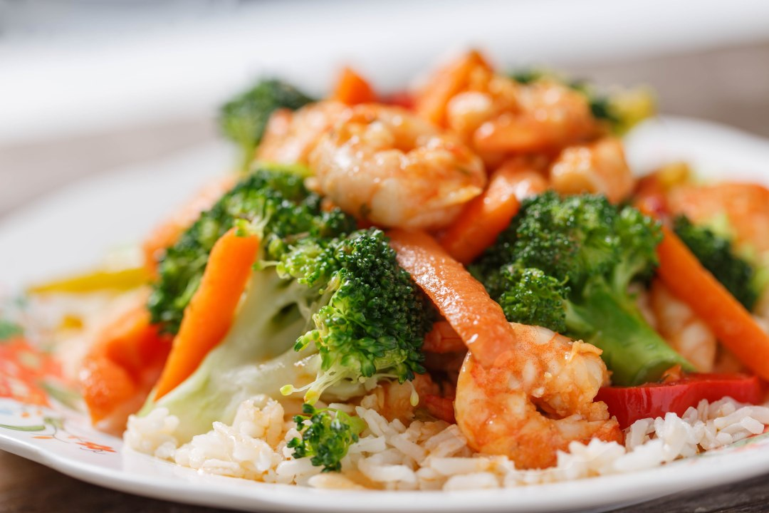 Shrimp broccoli-5