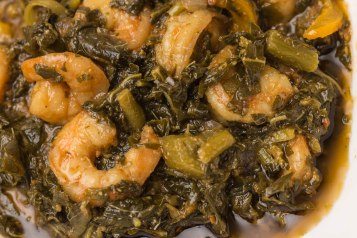 Steamed callaloo-2