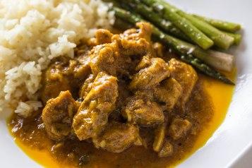 Jamaican curried chicken-3