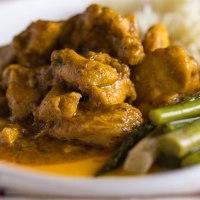 Jamaican curried chicken