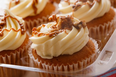 Pumpkin spice cupcakes-4