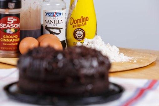 Chocolate creme cake