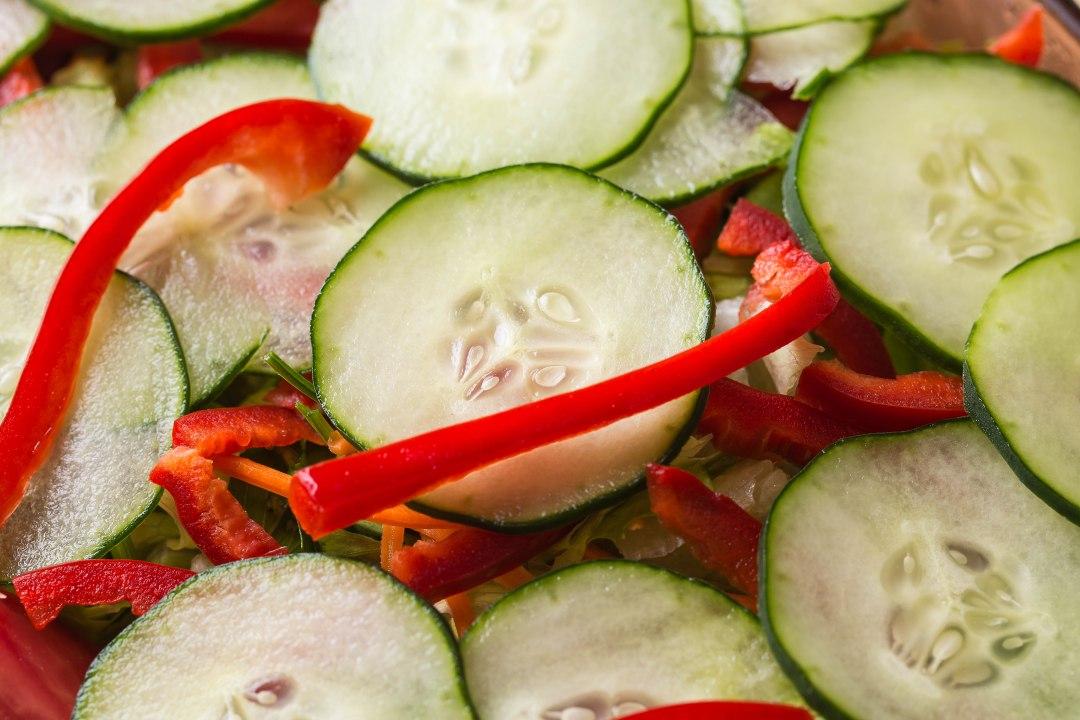 Cucumber salad-4