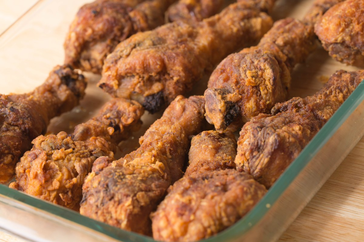 Deep Fried Drumsticks