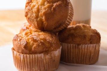 Muffins pina colada