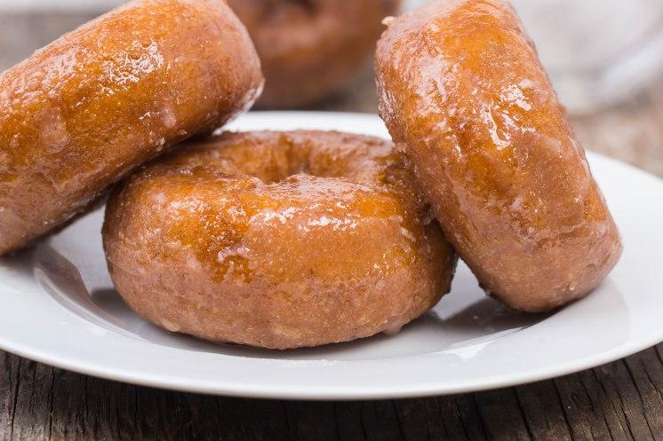 Pumpkin spice donuts-4
