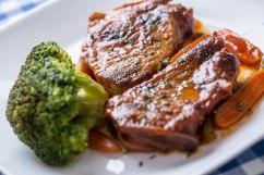 Smothered pork chops-4