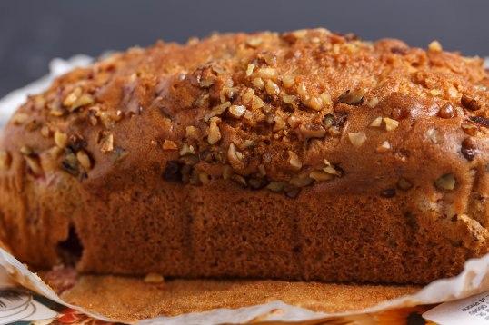 Cranberry nut bread-b