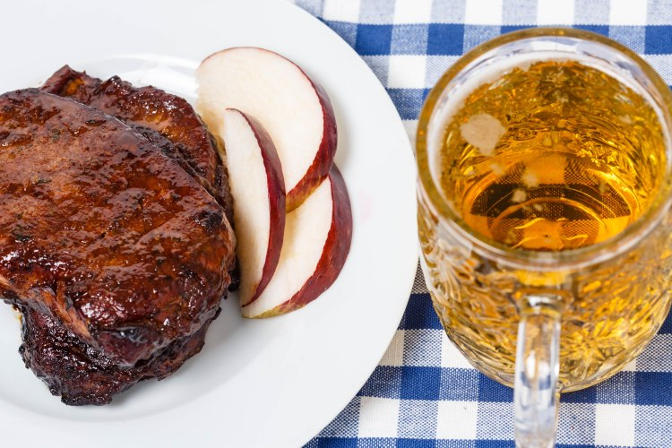 Pork chops and beer-2