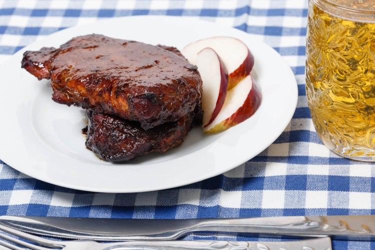 Pork chops and beer-3