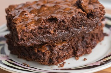 Triple chunk brownie-3