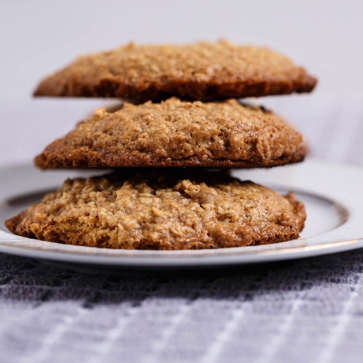 Jamaican Oatmeal Cookies