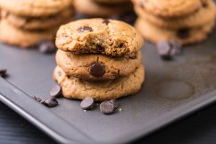 Chocolate chips peanut butter cookies-4