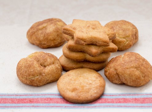 Cinnanmon sugar cookies+
