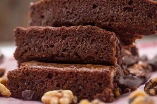Molten lava brownie
