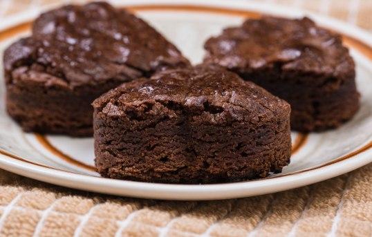 Pre-Valentine brownies
