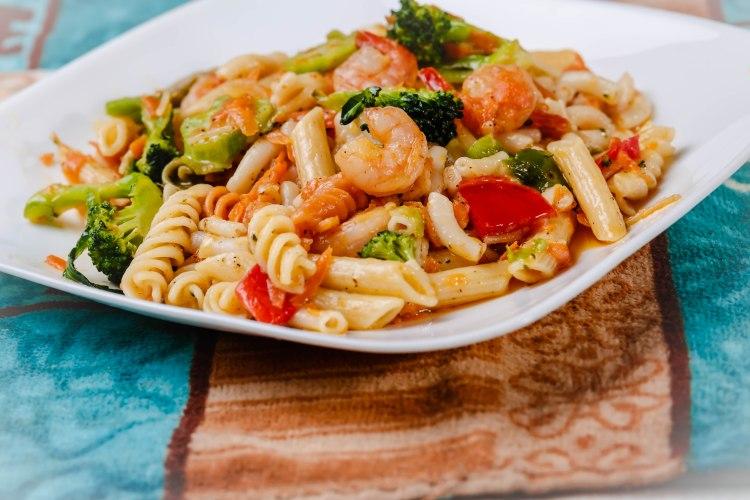 123 Shrimp Pasta