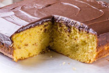 Chocolate covered lemon cake-4