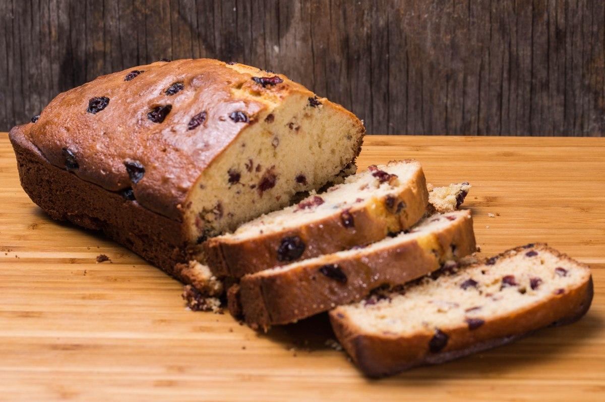 Classic Cranberry Bread