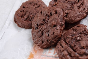 Double chocolate chunk Brownies-3