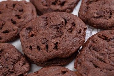 Double chocolate chunk Brownies-4