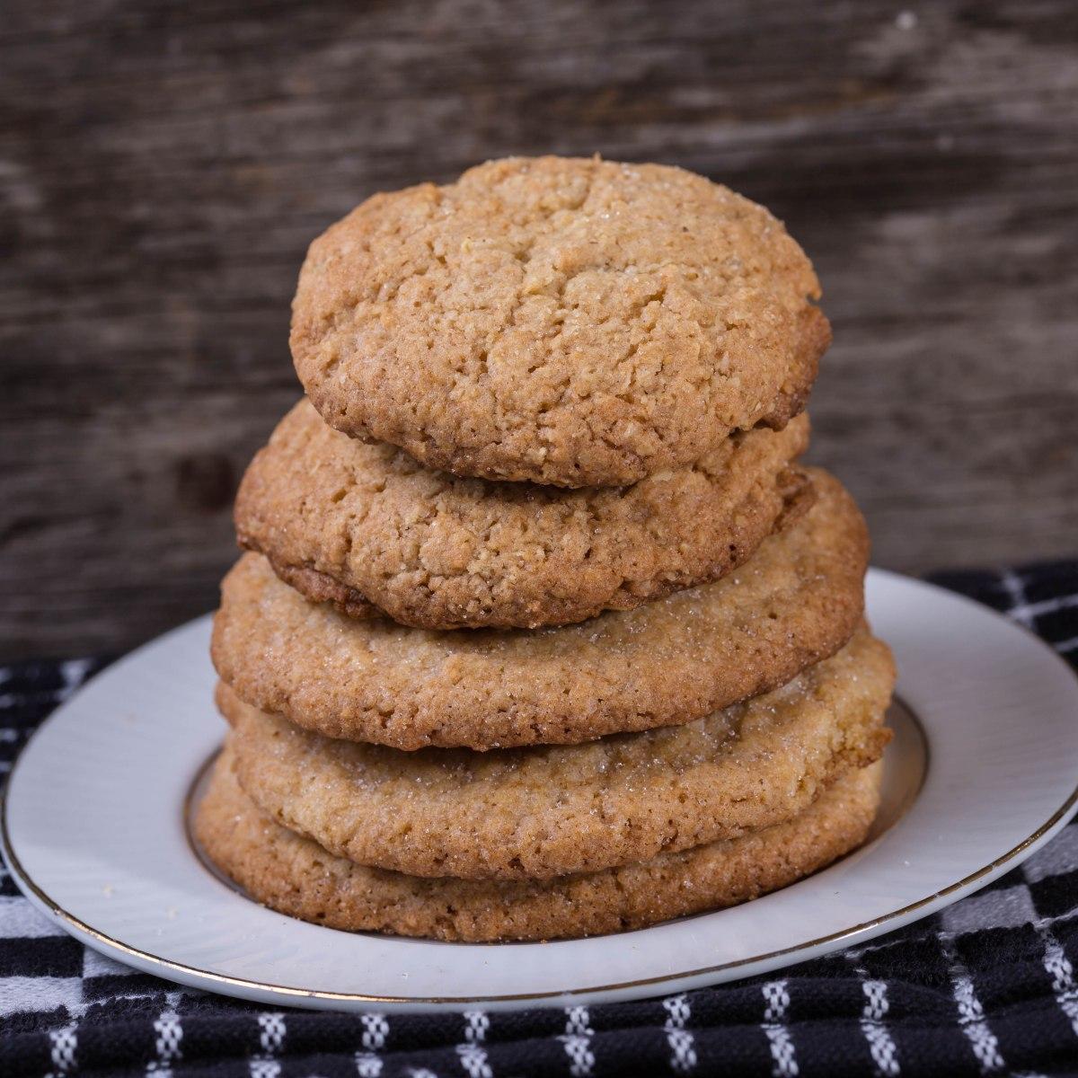 SLK Chewy Sugar Cookies