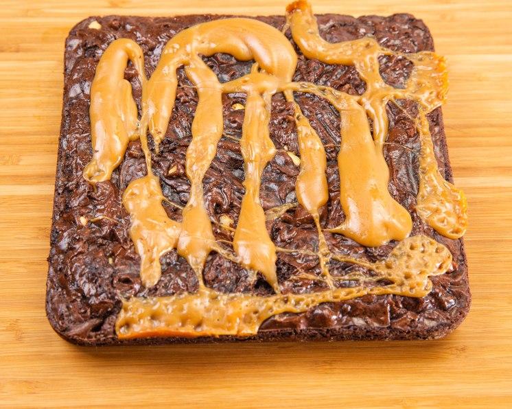 Caramel Walnuts Brownies-6