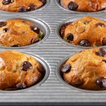 Mini chocolate chip muffins-3